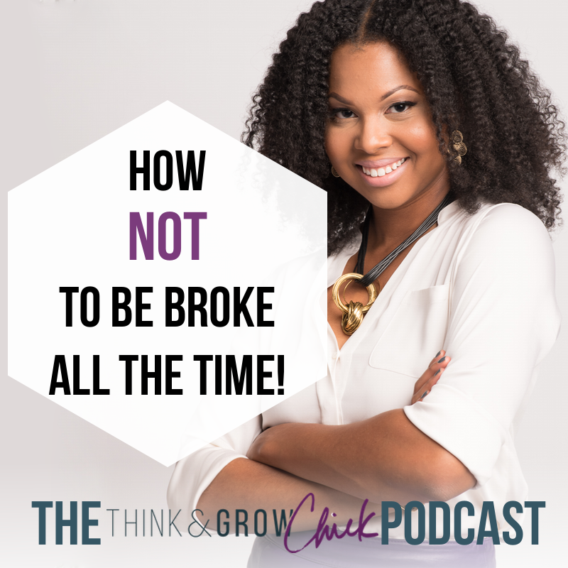 PODCAST - how not to be broke all the time2