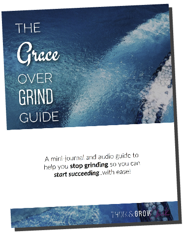 Grace Over Grind - Large